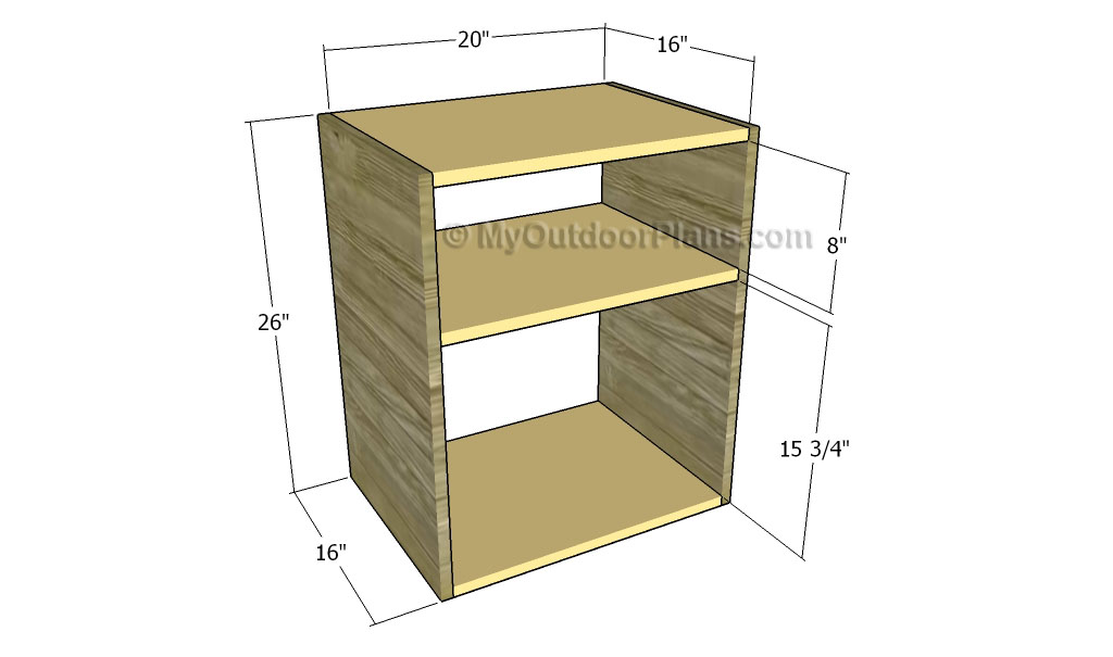 Nightstand woodworking plans free outdoor plans diy for Free nightstand woodworking plans