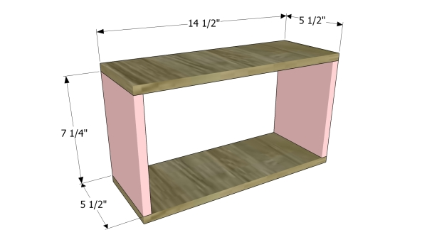 Building the frame of the organizer