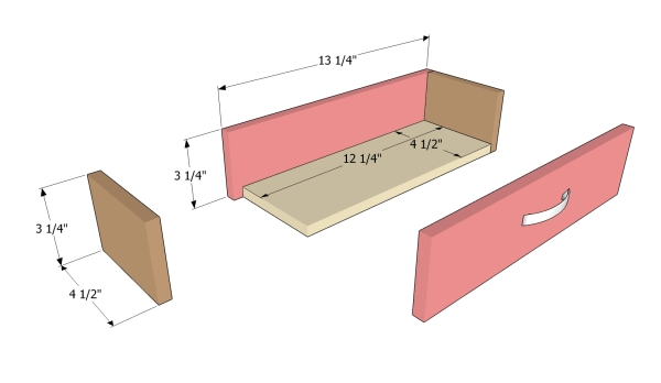 Building the large drawer