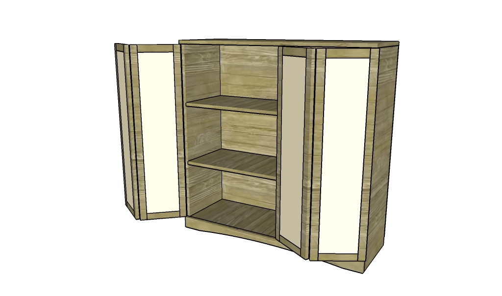 Storage Cabinet Plans