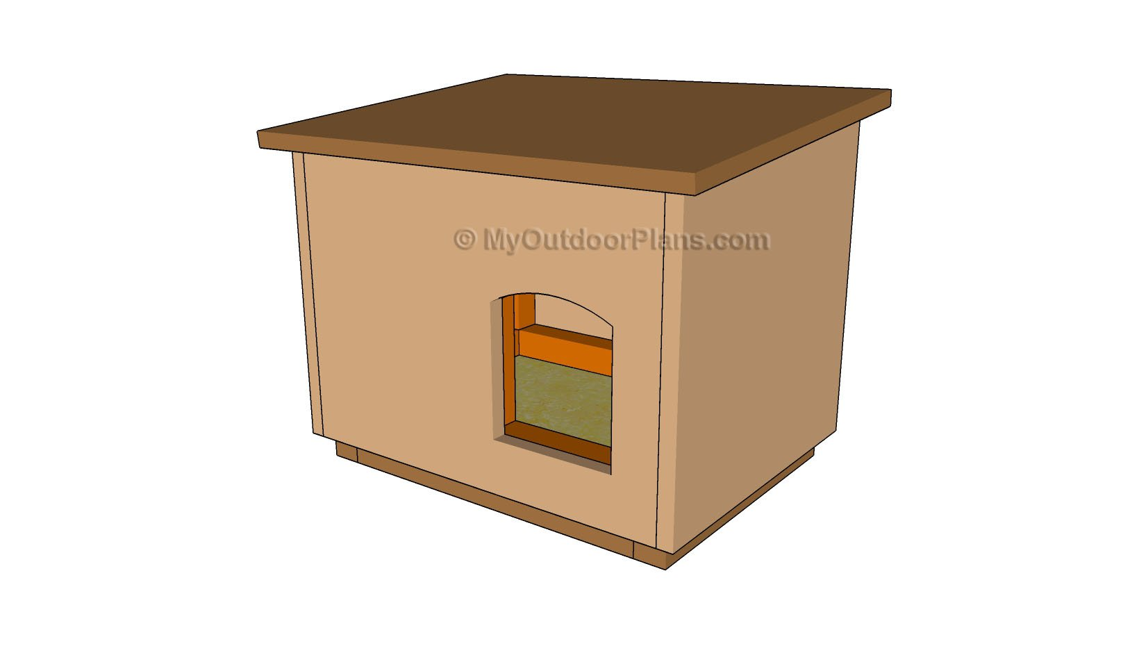 outdoor cat house plans myoutdoorplans free