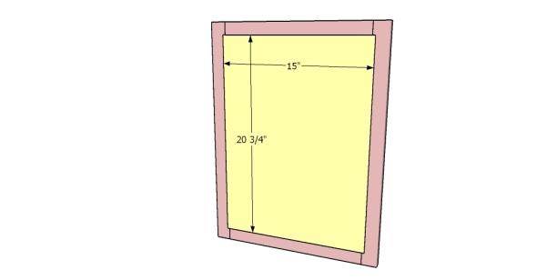 Fitting the door panels