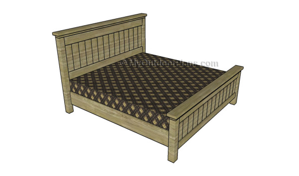 King Size Bed Frame Plans Myoutdoorplans Free Woodworking Plans