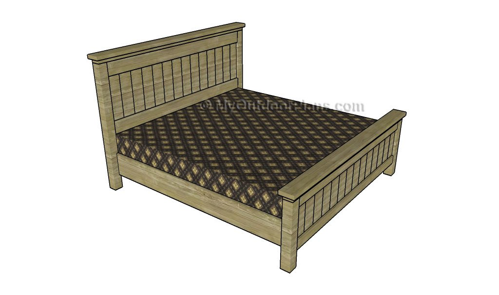 King Size Bed Frame Plans Myoutdoorplans Free Woodworking Plans And Projects Diy Shed Wooden Playhouse Pergola Bbq