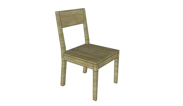 Kitchen chair plans