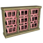 Laundry Basket Dresser Plans
