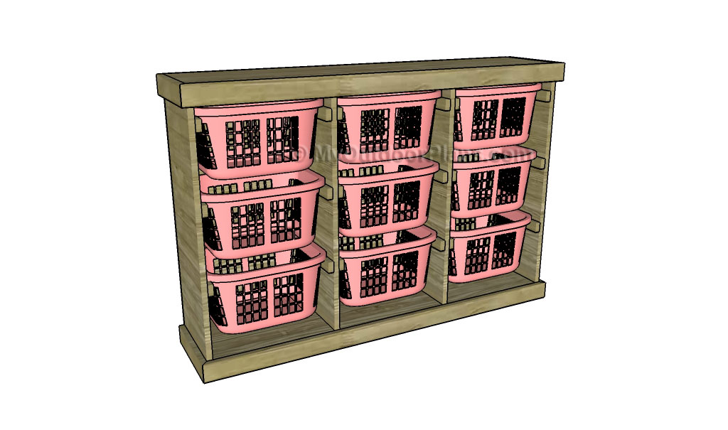 Laundry Basket Dresser Plans