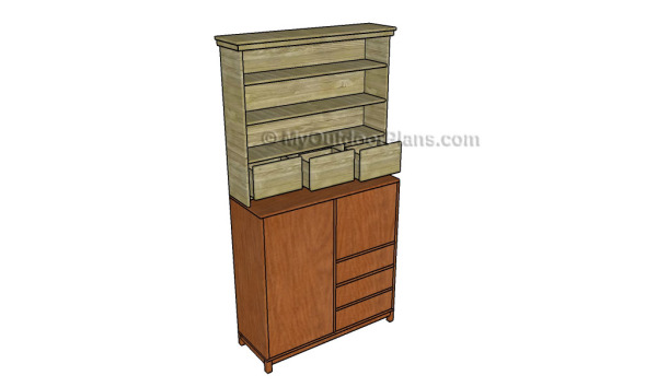 Office desk hutch plans