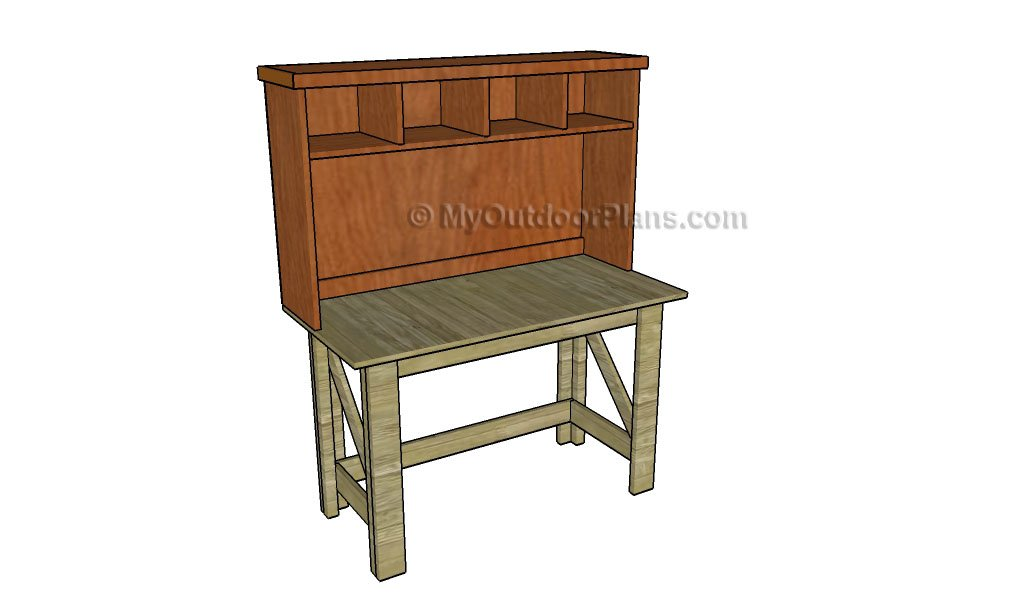 how to build a simple desk