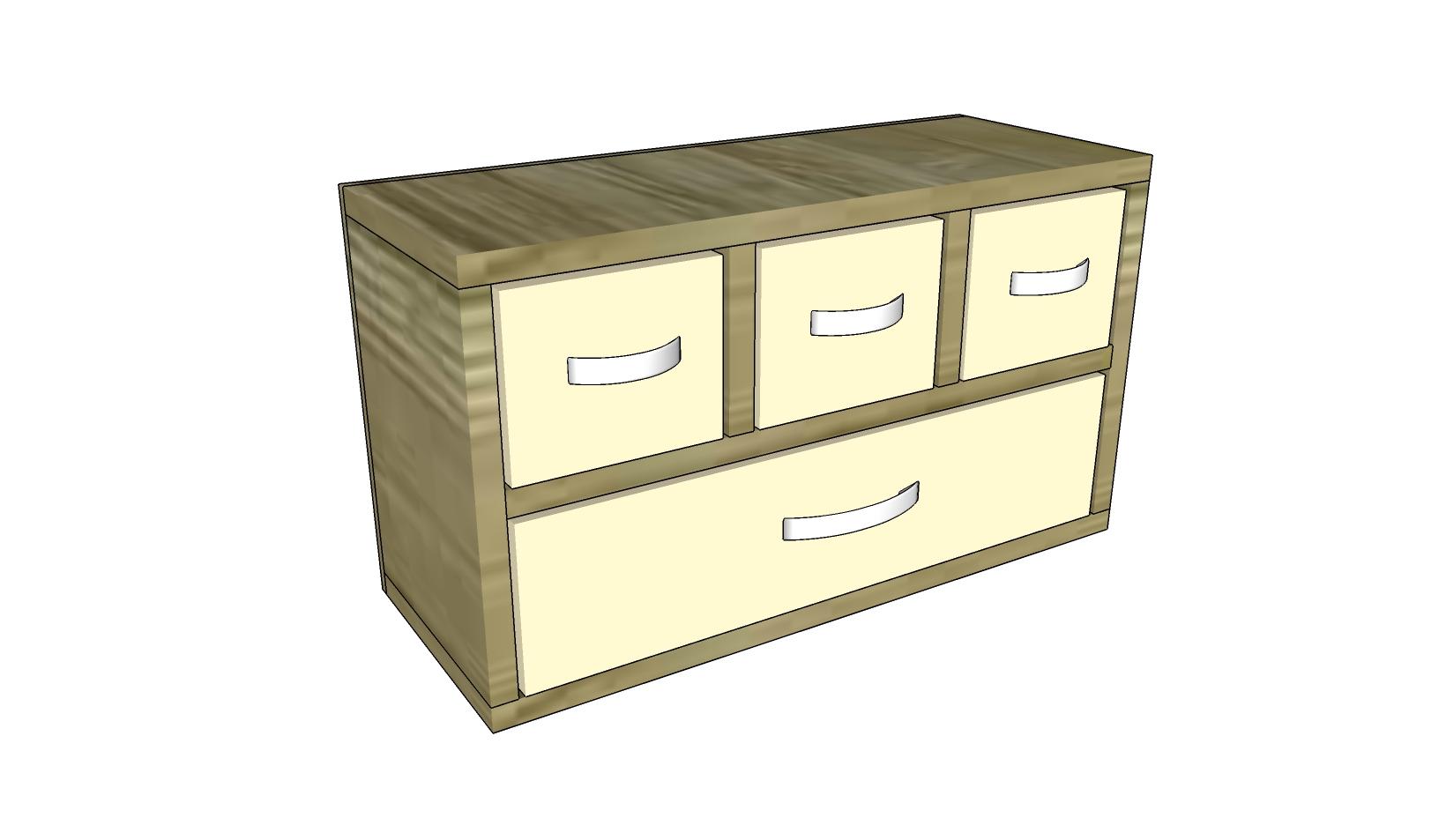 Wood Organizer Plans