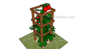 Tomato cage plans