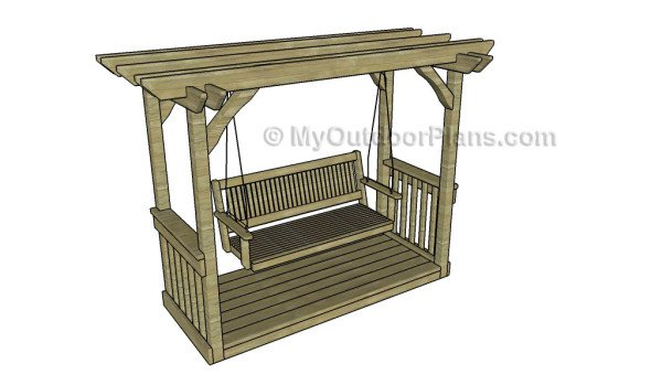 Arbor Swing Plans | MyOutdoorPlans | Free Woodworking Plans and ...