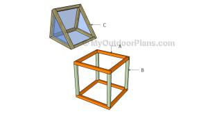 Building a mini greenhouse