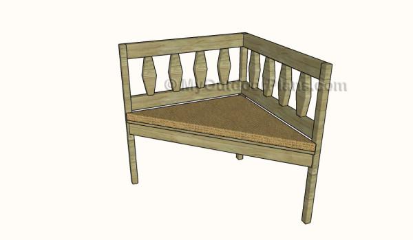 Corner Bench Plans Myoutdoorplans Free Woodworking