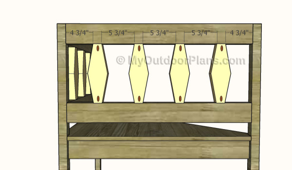 Fitting the railings