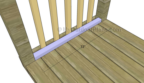 Fitting the trims to the balusters