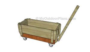 Garden wagon plans