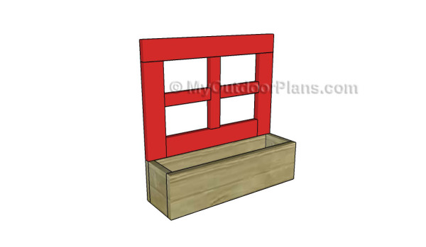 How to build a flower box