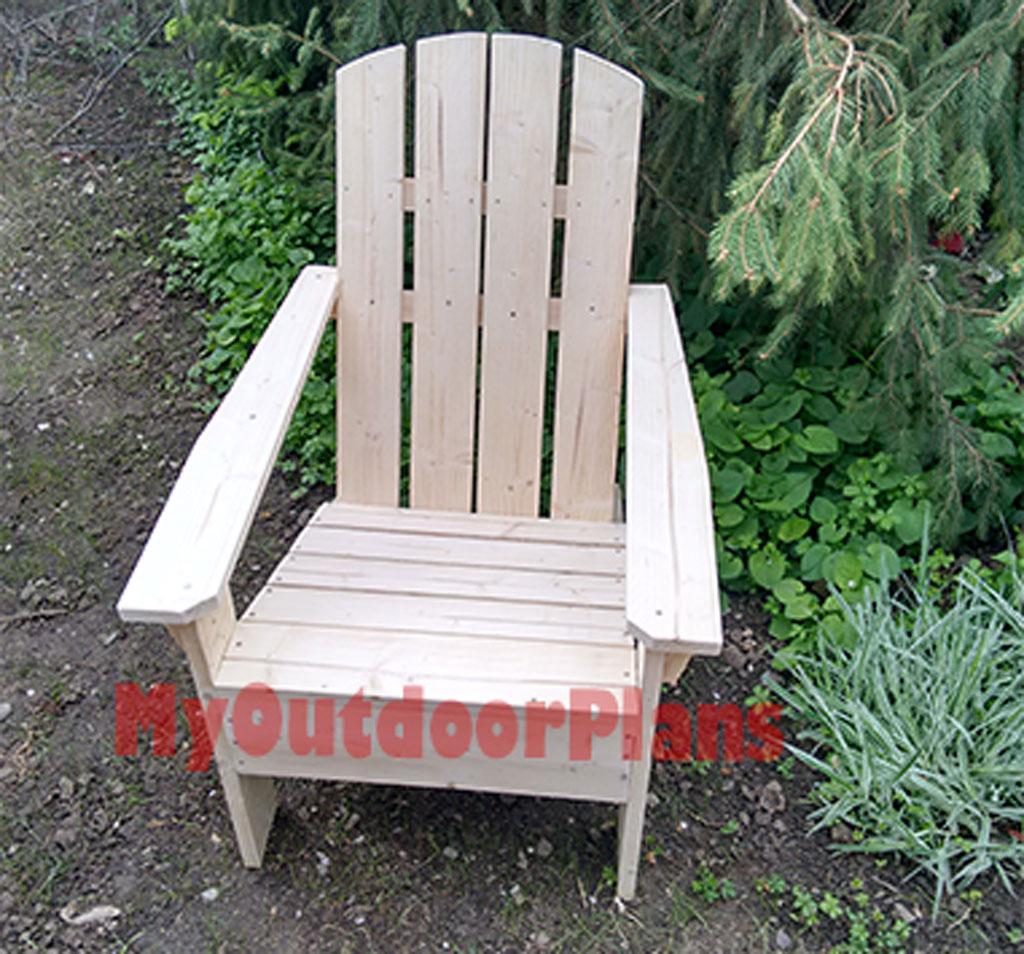 Simple Adirondack Chair