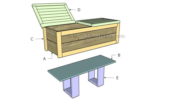 Building a wooden cooler