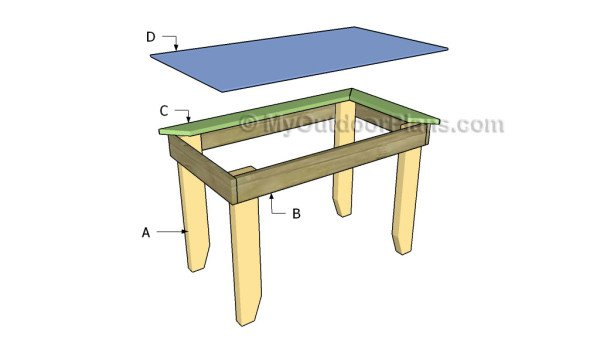 Building an outdoor table