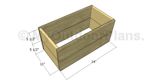 Building the wooden box