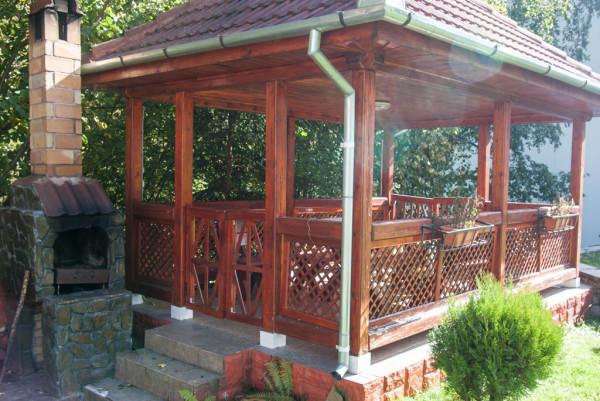 Do It Yourself Home Design: Rectangular Gazebo