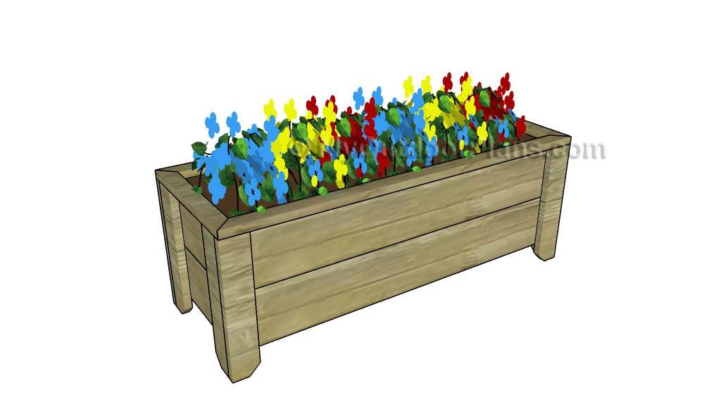 How to make a planter box
