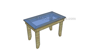 Outdoor wood table plans
