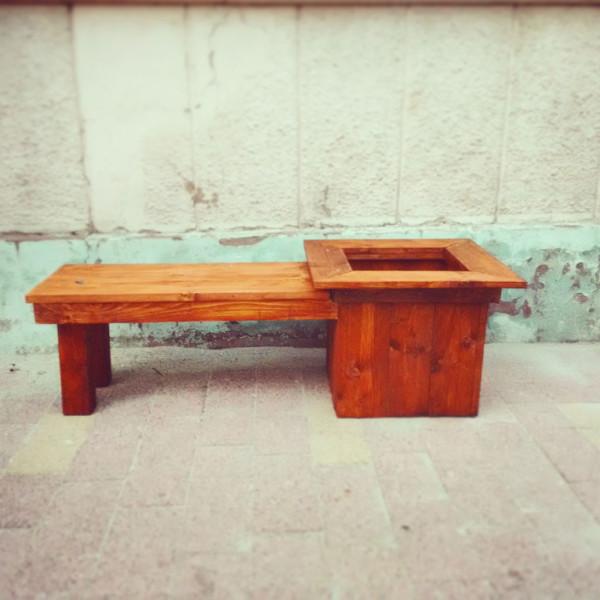 Planter-bench