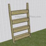 Vertical Tiered Planter Ladder Plans