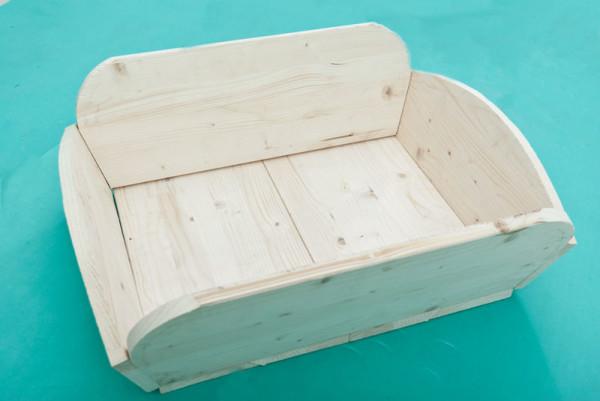 Wooden-wheelbarrow
