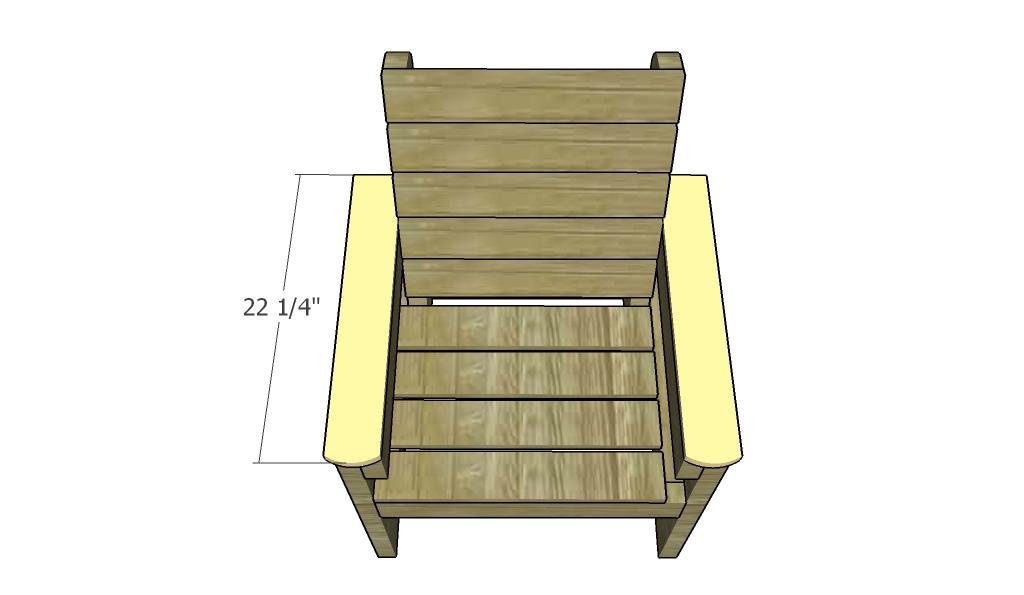 Садовые кресла своими руками чертежи и фото 17