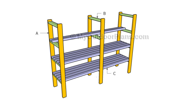 Building 2x4 Shelving Plans