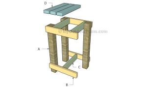 Building a barrel stand