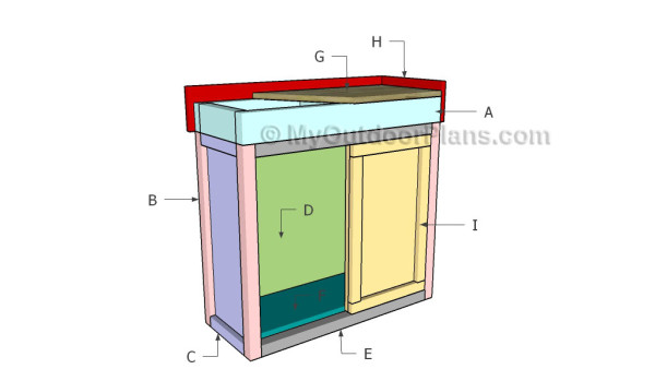 Building a fish tank stand