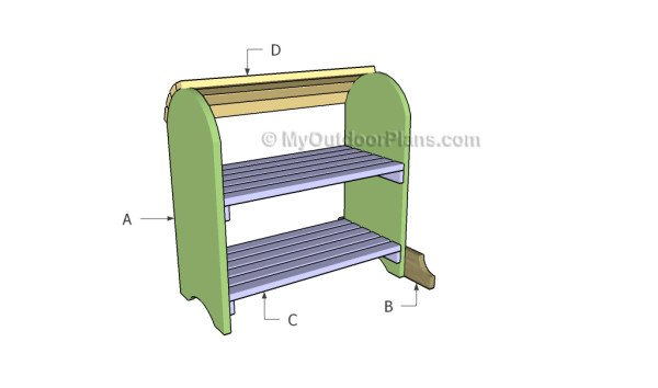 Building a saddle stand