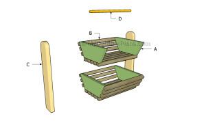 Building a veggie basket