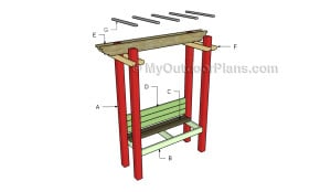 Building an arbor bench
