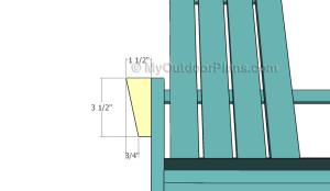 Building the armrests details