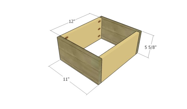 Building the drawer