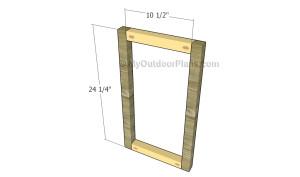 Building the side frames