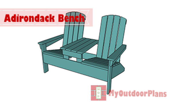 Double-adirondack-chair-plans