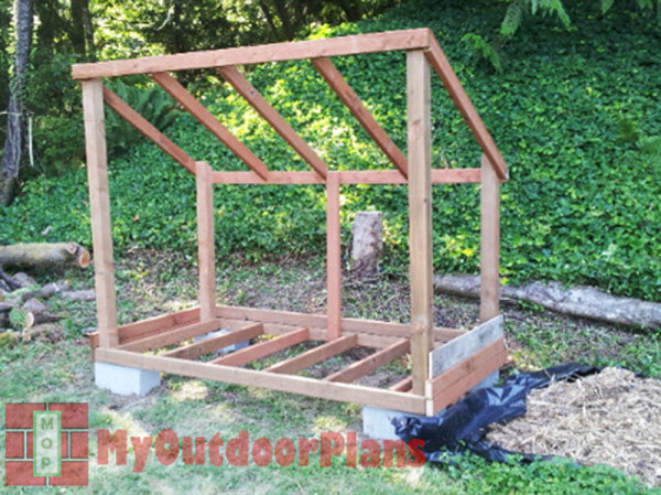 Wood Shed Plans | MyOutdoorPlans | Free Woodworking Plans and Projects ...