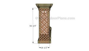 Fitting the lattice panels