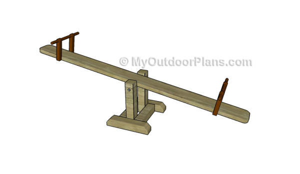 How to build a seesaw | MyOutdoorPlans | Free Woodworking ...