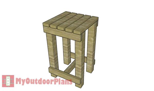Rain-barrel-stand-plans