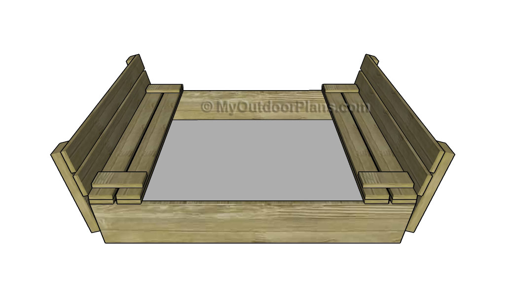 Sandbox with Cover Plans