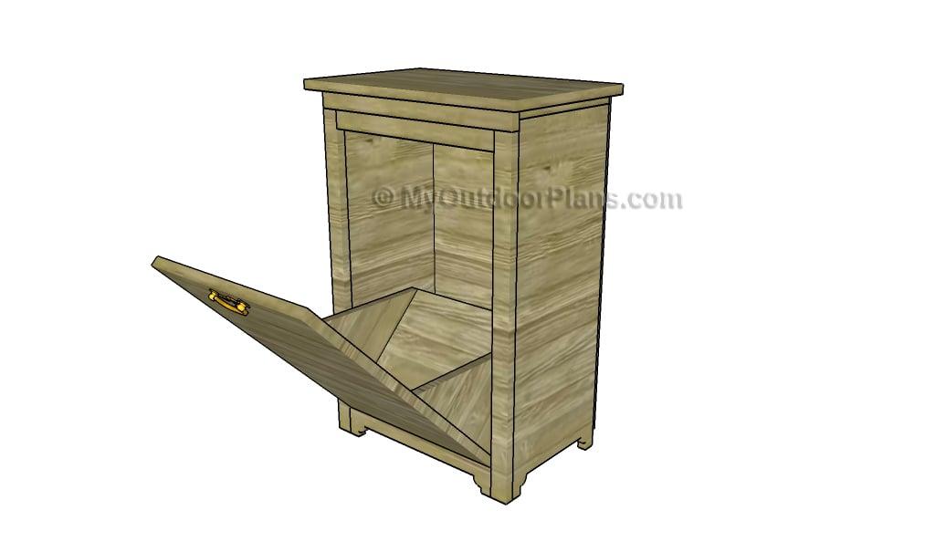 Trash Cabinet Plans