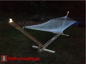 Wooden-Hammock-Stand-Plans